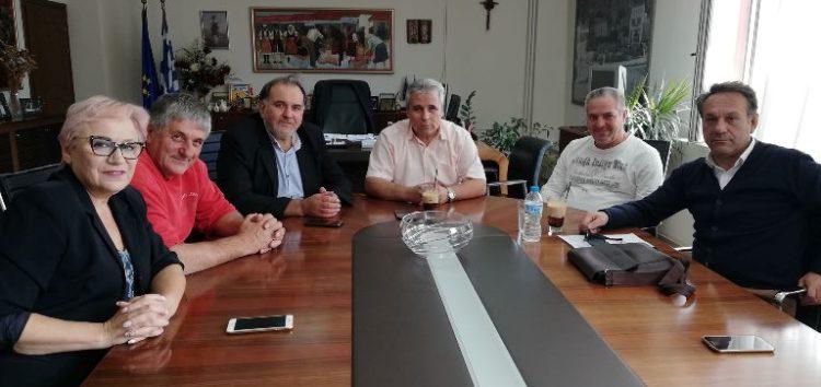 Συνάντηση του αντιπεριφερειάρχη Φλώρινας με τον πρόεδρο και τη διοικητική επιτροπή του Επιμελητηρίου