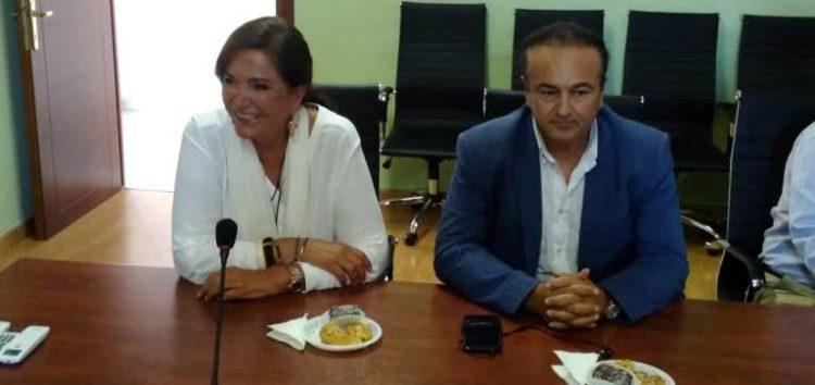 Δέσμευση της κας Μπακογιάννη για υλοποίηση των προτάσεων που κατέθεσε για την ανάπτυξη της περιοχής ο βουλευτής Γ. Αντωνιάδης