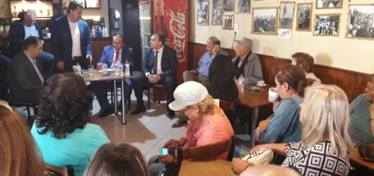 Επίσκεψη του βουλευτή Γιάννη Αντωνιάδη στην τοπική κοινότητα Αναργύρων (pics)