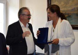 Συνάντηση του δημάρχου Φλώρινας με τη Ντόρα Μπακογιάννη (video, pics)