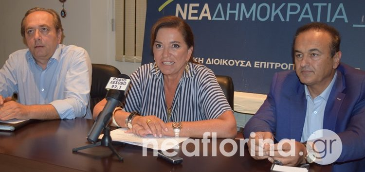 Ντόρα Μπακογιάννη από Φλώρινα: «Η λογική του Ίλιντεν είναι ο πυρήνας του αλυτρωτισμού των Σκοπίων» (video)