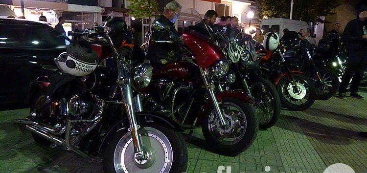 Δεκάδες μηχανές Harley Davidson γέμισαν την πλατεία της Φλώρινας (video, pics)