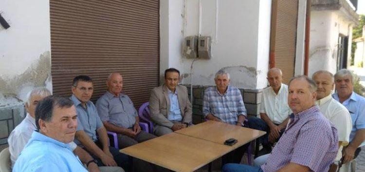 Επίσκεψη του βουλευτή Γιάννη Αντωνιάδη στην τοπική κοινότητα Παπαγιάννη (pics)