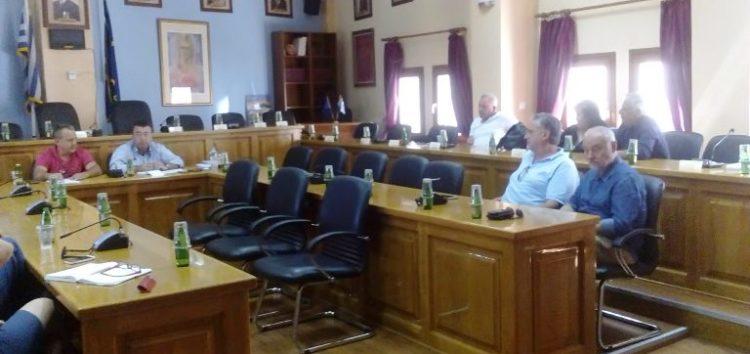 Σύσκεψη στον δήμο Αμυνταίου με τους διευθυντές των σχολικών μονάδων δευτεροβάθμιας εκπαίδευσης