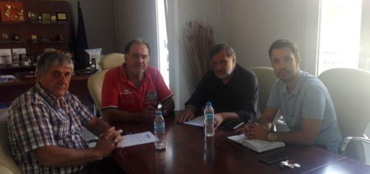 Συνάντηση του βουλευτή Κωνσταντίνου Σέλτσα με μέλη της διοίκησης του Επιμελητηρίου Φλώρινας