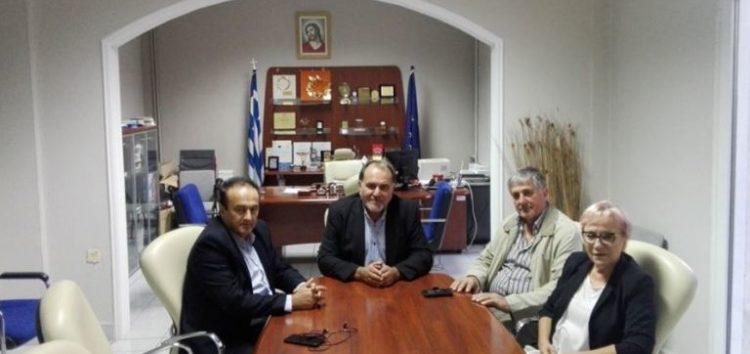 Συνάντηση της διοίκησης του Επιμελητηρίου Φλώρινας με τον αντιπεριφερειάρχη και τον βουλευτή Γιάννη Αντωνιάδη