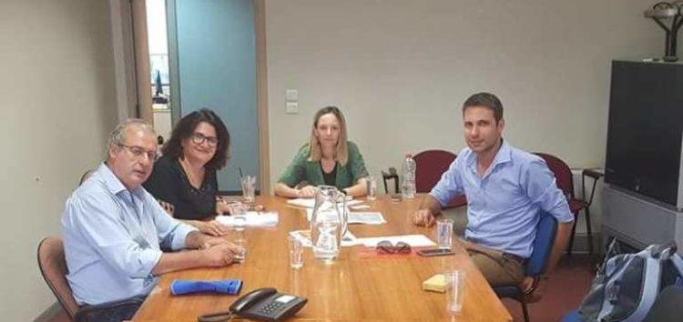 Ενημερωτική σύσκεψη στο υπουργείο Περιβάλλοντος για την προστασία της λίμνης Βεγορίτιδας και της δημόσιας υγείας