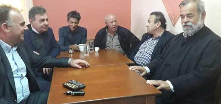 Την τοπική κοινότητα Σκλήθρου επισκέφτηκε ο βουλευτής Γιάννης Αντωνιάδης (pics)