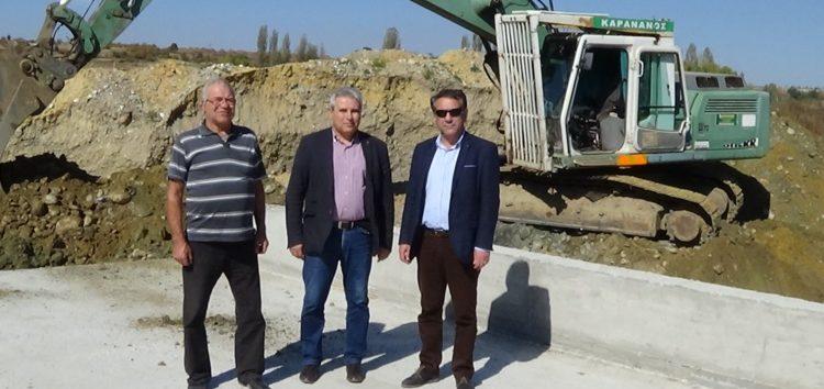 Ολοκληρώνονται οι γέφυρες στις τοπικές κοινότητες Μελίτης και Νεοχωρακίου (video, pics)