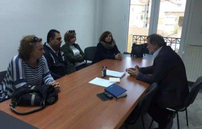 Συνάντηση του βουλευτή Φλώρινας Κωνσταντίνου Σέλτσα με εργαζόμενους του προγράμματος «Βοήθεια στο Σπίτι»