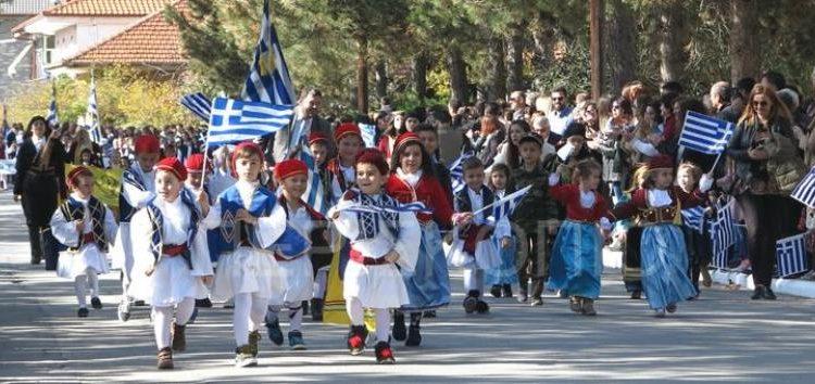 Ο εορτασμός της 28ης Οκτωβρίου στο Αμύνταιο (video, pics)
