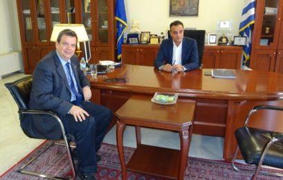 Συνάντηση του Πρύτανη του ΑΠΘ με τον Περιφερειάρχη Θ. Καρυπίδη (video, pics)