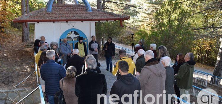Αγιασμός και αρτοκλασία στο παρεκκλήσι του Αγίου Δημητρίου του ΦΟΟΦ (video, pics)