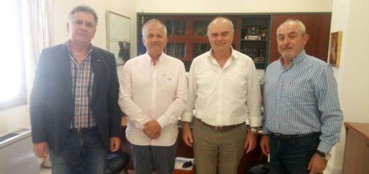Ο β' αντιπρόεδρος του Επιμελητηρίου Φλώρινας επισκέφτηκε το Επιμελητήριο Ηρακλείου
