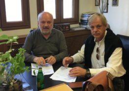 Υπογραφή σύμβασης για αποκατάσταση φθορών ασφαλτοστρώσεων στο δήμο Αμυνταίου