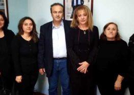 Συνάντηση του βουλευτή Γιάννη Αντωνιάδη με εκπροσώπους του νεοσύστατου Συλλόγου Συζύγων Θανόντων ΑΞ.Ι.Α