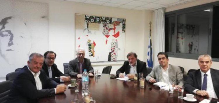 Συνάντηση των βουλευτών του ΣΥΡΙΖΑ Δυτικής Μακεδονίας με τον υπουργό Παιδείας
