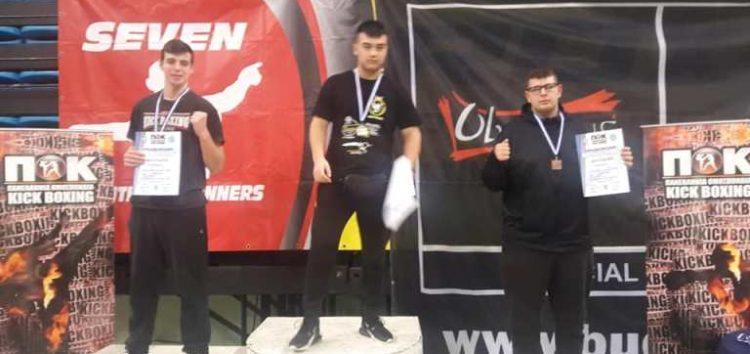 2η θέση για τον αθλητή του «Παγκράτιον» Θωμά Σαρρή στο Πανελλήνιο Πρωτάθλημα Kick Boxing (pics)