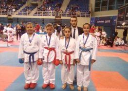 Χάλκινο μετάλλιο για την Αγάπη Τσαρτσιταλίδου στο Πανελλήνιο Πρωτάθλημα Καράτε Εγχρώμων και Μαύρων Ζωνών