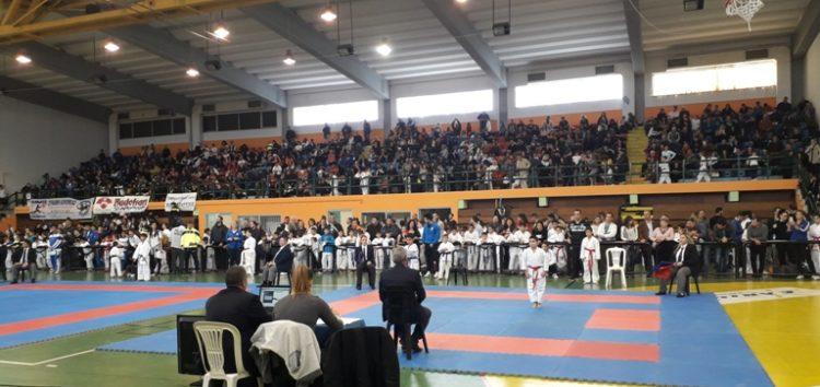 Ολοκληρώθηκε το Κύπελλο Καράτε εγχρώμων και μαύρων ζωνών Βορείου Ελλάδος στο Αμύνταιο (pics)