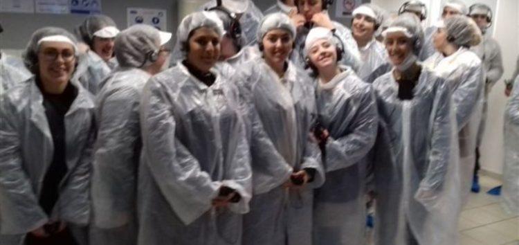 Φοιτητές της Σχολής Τεχνολογίας Γεωπονίας του ΤΕΙ επισκέφτηκαν την επιχείρηση «Megas Yeeros»