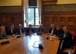 Συνάντηση του βουλευτή Κωνσταντίνου Σέλτσα με τον υπουργό Παιδείας για το μέλλον του Πανεπιστημίου Δυτικής Μακεδονίας