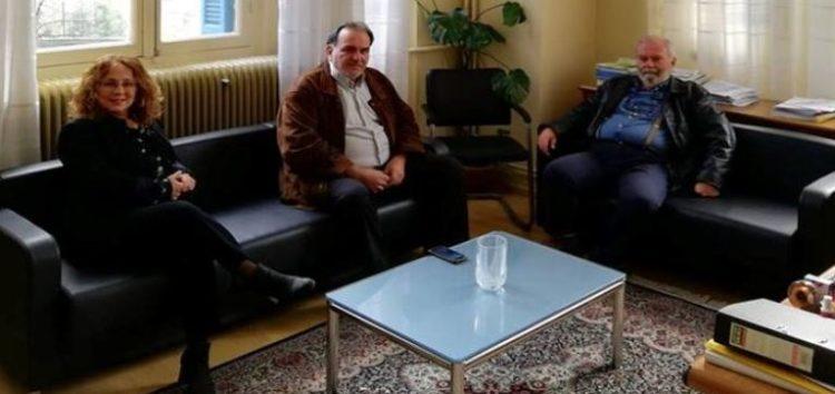 Ο πρόεδρος του Επιμελητηρίου συναντήθηκε με τη διοίκηση του ΤΕΙ Φλώρινας