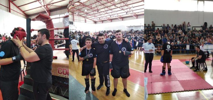 Ο Α.Σ. «Παγκράτιον» στο Πρωτάθλημα Βορείου Ελλάδος Kick Boxing (pics)