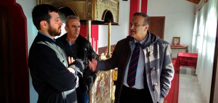 Τη Βεύη επισκέφτηκε ο βουλευτής Γιάννης Αντωνιάδης