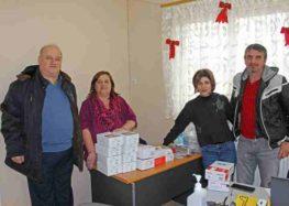 Παράδοση δωρεάς υλικών και εξοπλισμού στο Πολυδύναμο Περιφερειακό Ιατρείο Λευκώνα Πρεσπών