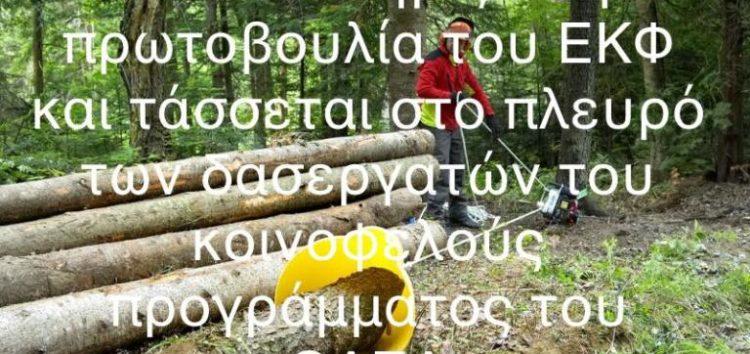 Η ΓΣΕΕ στηρίζει την πρωτοβουλία του Εργατικού Κέντρου Φλώρινας για τους δασεργάτες