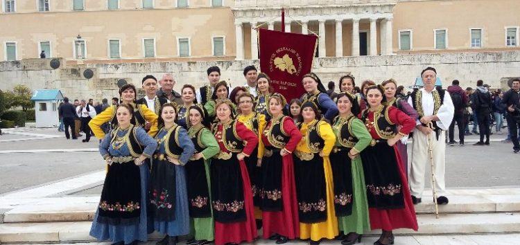 Ο Σύλλογος Θεσσαλών και Φίλων Ν. Φλώρινας στο Σύνταγμα για τα 137α ελευθέρια Θεσσαλίας (pics)