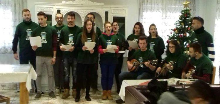 Επίσκεψη φοιτητών και προσωπικού του ΤΕΙ Φλώρινας στο γηροκομείο της Μητρόπολης (video, pics)