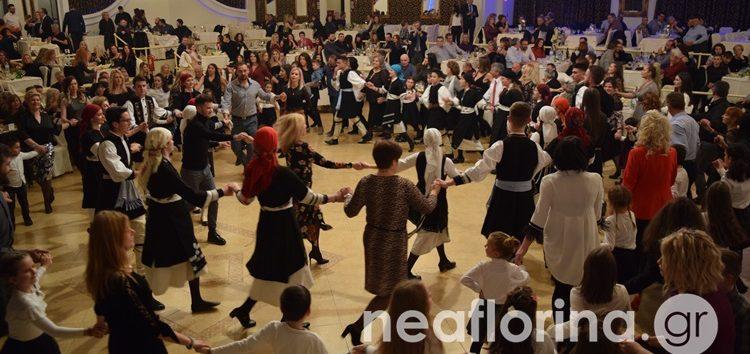 Ο ετήσιος χορός του Σωματείου Ελληνικών Παραδοσιακών Χορών «Λυγκηστές» (video, pics)