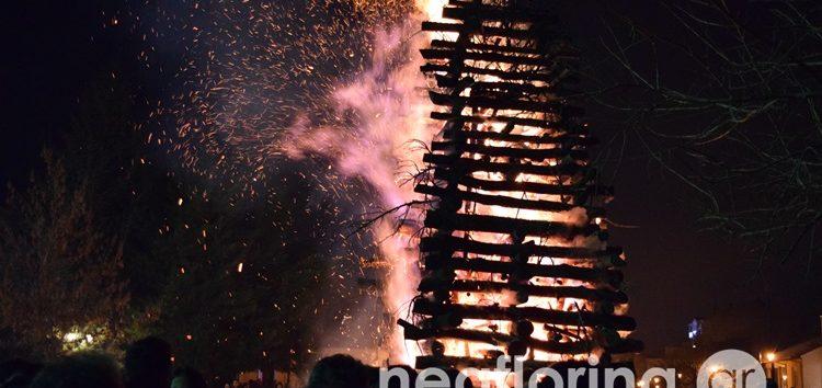 Άναψαν και φέτος οι Φωτιές της Φλώρινας (video, pics)