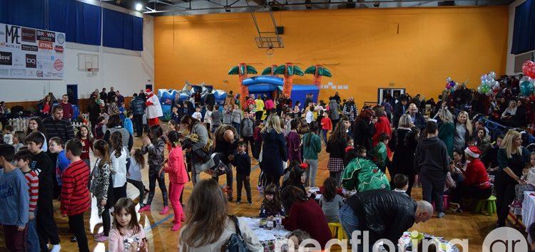 Η Χριστουγεννιάτικη γιορτή για τα παιδιά των αστυνομικών της Φλώρινας (video, pics)