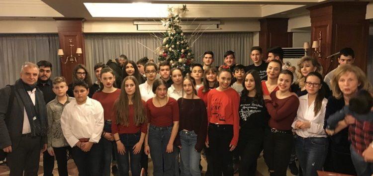 Το Μουσικό Σχολείο Αμυνταίου στη Χριστουγεννιάτικη γιορτή του Συλλόγου Συνταξιούχων Δασκάλων και Νηπιαγωγών