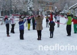 Παιχνίδια στο χιόνι για τα παιδιά (pics)