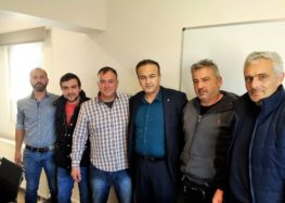 Πληθώρα προβλημάτων για τους φασολοπαραγωγούς των Πρεσπών – Επίσκεψη Αντωνιάδη στον «Πελεκάνο»