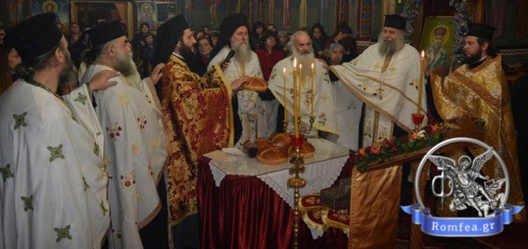 Εορτή της Αγίας Αναστασίας της Φαρμακολύτριας στην Άνω Καλλινίκη