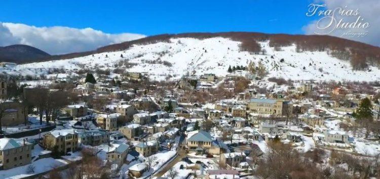 Νυμφαίο 2018: η νύμφη του χιονιού και της πέτρας (video)
