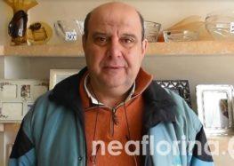 Θωμάς Ταλλίδης: «Αγανάκτηση και ανησυχία στον εμπορικό κόσμο της Φλώρινας»