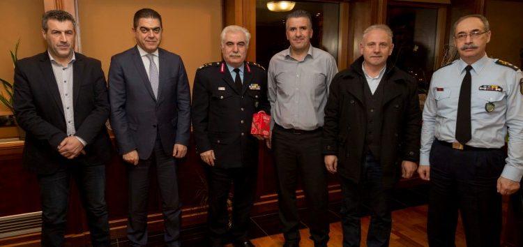 Συνάντηση του Δ.Σ. της Ένωσης Αστυνομικών Υπαλλήλων Φλώρινας με τον Αρχηγό της ΕΛ.ΑΣ.