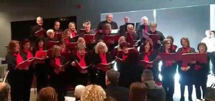 Η Χορωδία Γονέων και Φίλων του Ωδείου Φλώρινας εντυπωσίασε στην πρώτη της εμφάνιση εκτός πόλης