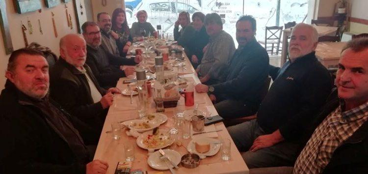 Συνάντηση του υποψηφίου δημάρχου Φλώρινας, Βασίλη Γιαννάκη, με εκπροσώπους των ΜΜΕ