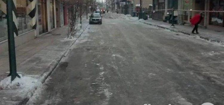 Αύριο ο αποχιονισμός της οδού Ν. Χάσου – Απομακρύνθηκαν σήμερα τα χιόνια από την Π. Μελά και τη Σαρανταπόρου (pics)