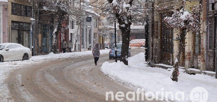 Με νέα χιονόπτωση ξεκινά η μέρα – Παραμένει ο παγετός