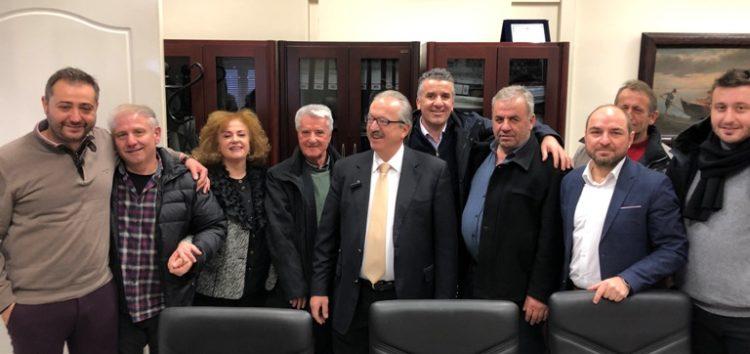 Ευχές για την ονομαστική του εορτή δέχθηκε ο δήμαρχος Φλώρινας Γ. Βοσκόπουλος