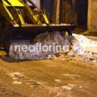 Ο Δήμος Φλώρινας για τον αποχιονισμό – Διάθεση αλατιού για τον καθαρισμό πεζοδρομίων