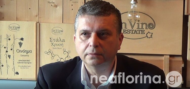 Τους αγρότες στη διασταύρωση Αντιγόνου επισκέφθηκε ο υποψήφιος δήμαρχος Αμυνταίου Τρύφων Γρομπανόπουλος